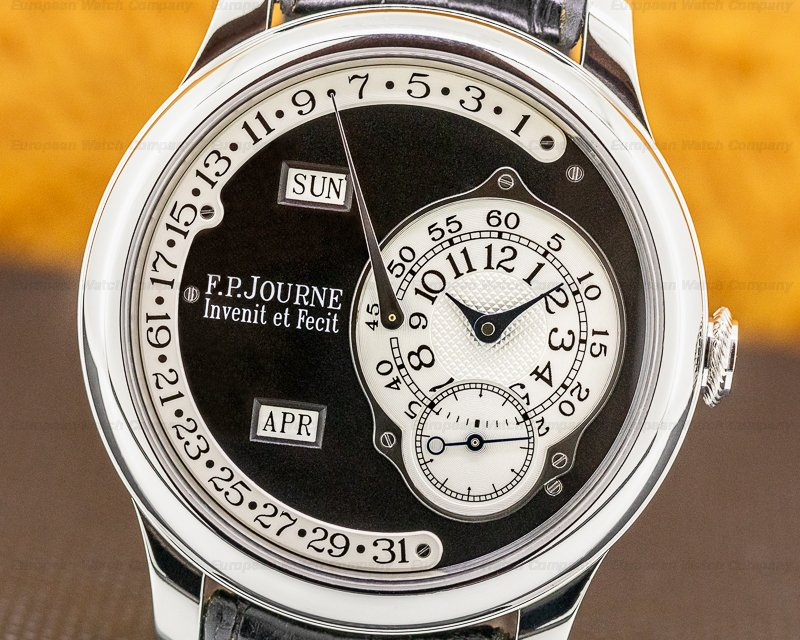 F. P. Journe Octa Calendrier Black La Octa Calendrier BLACK LABEL 40MM LIMITED FULL SET