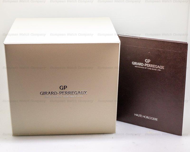 Girard Perregaux 93500-52-731-BA6D Constant Escapement L.M. 18k Rose Gold UNWORN