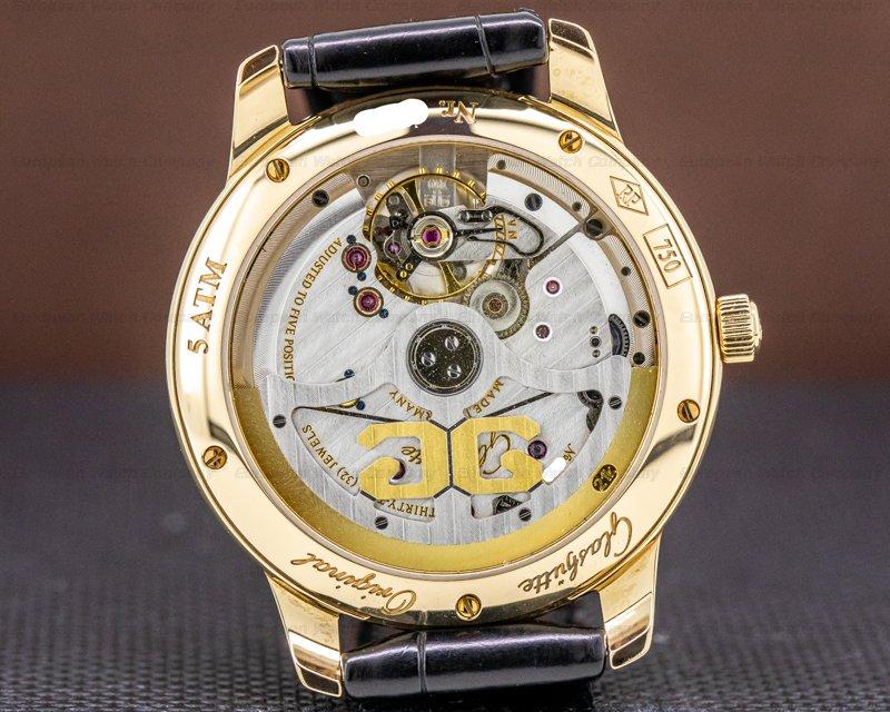 Glashutte Original 100-10-01-01-04 Senator Meissen Porcelain Dial 18K Rse Gold