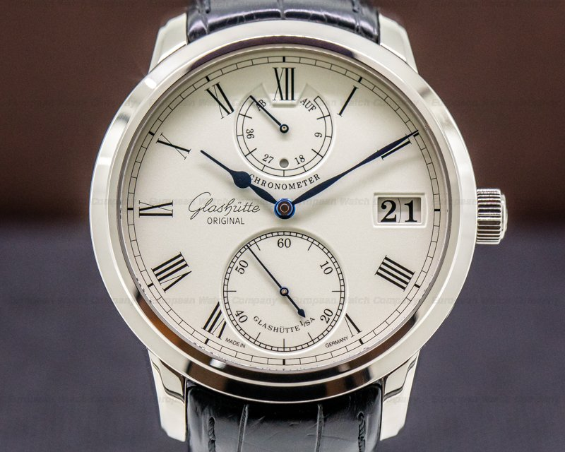 Glashutte Original 58-01-01-04-04 Senator Chronometer 18K White Gold