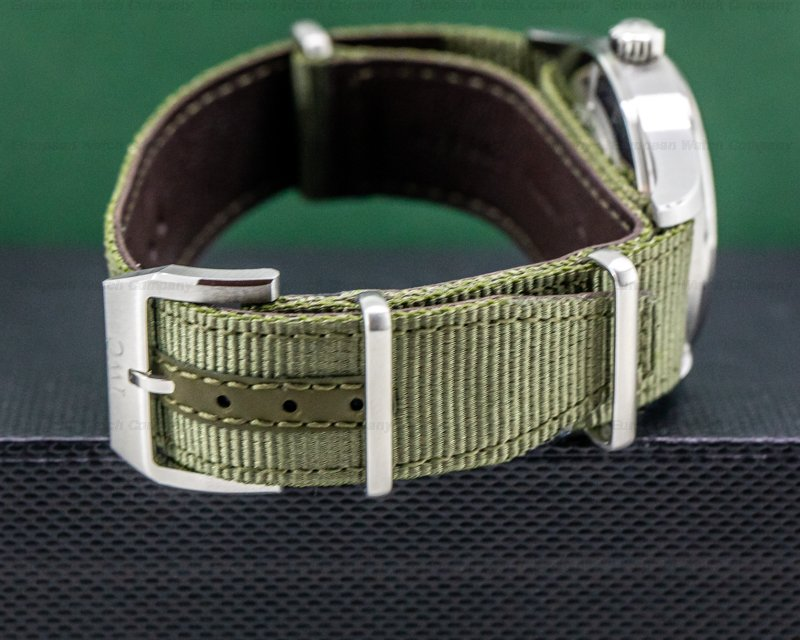 IWC IW326801 Pilot's Watch Automatic Spitfire SS/Textile Strap