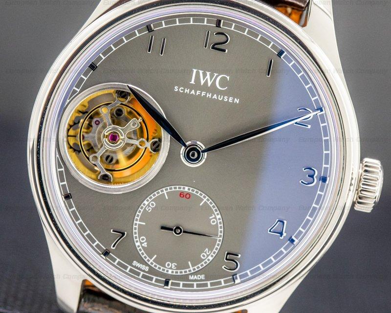 IWC IW546301 Portuguese Tourbillon 18K White Gold