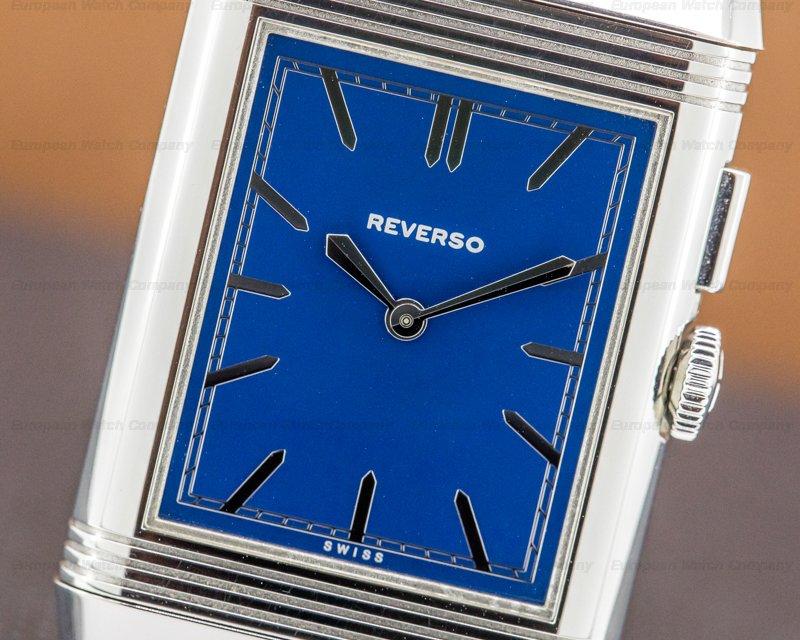 Jaeger LeCoultre 378858J Grande Reverso Duoface Bleu Boutique Edition