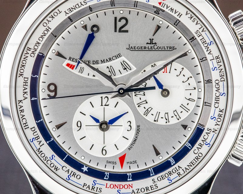 Jaeger LeCoultre Q1528420 Master World Geographic SS