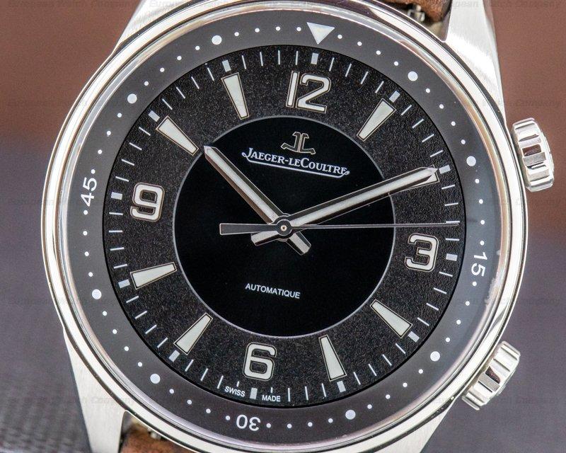 Jaeger LeCoultre Q9008471 Polaris Automatic SS Black Dial