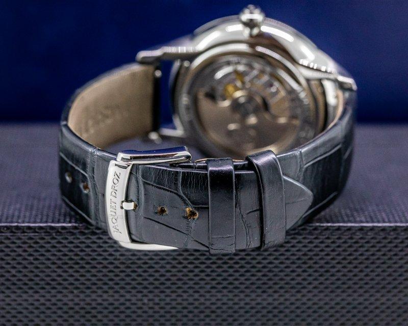Jaquet Droz J021010201 Date Astrale Opaline Black Dial 39MM