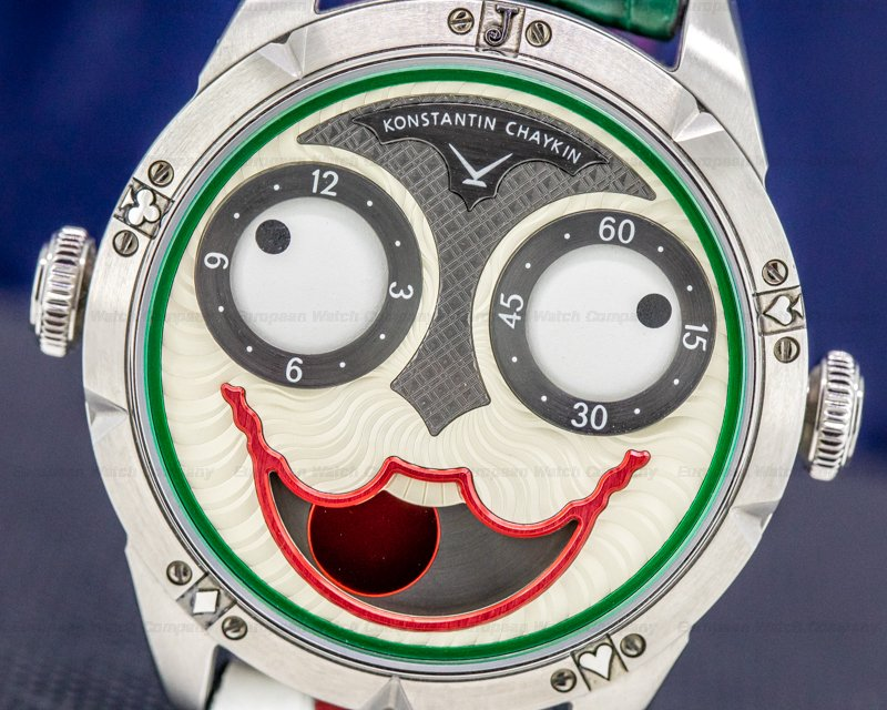 Konstantin Chaykin K07-O.Ti01.03 Konstantin Chaykin Joker Titanium RARE LIMITED UNWORN
