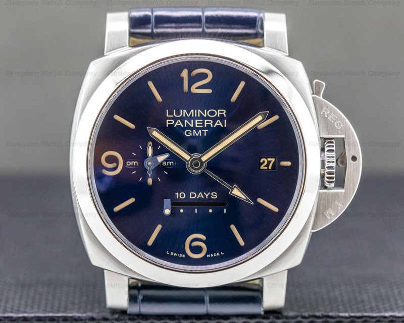 "Panerai PAM00986 Luminor 1950 10-Days GMT ""Design Miami"" Limited Edition"