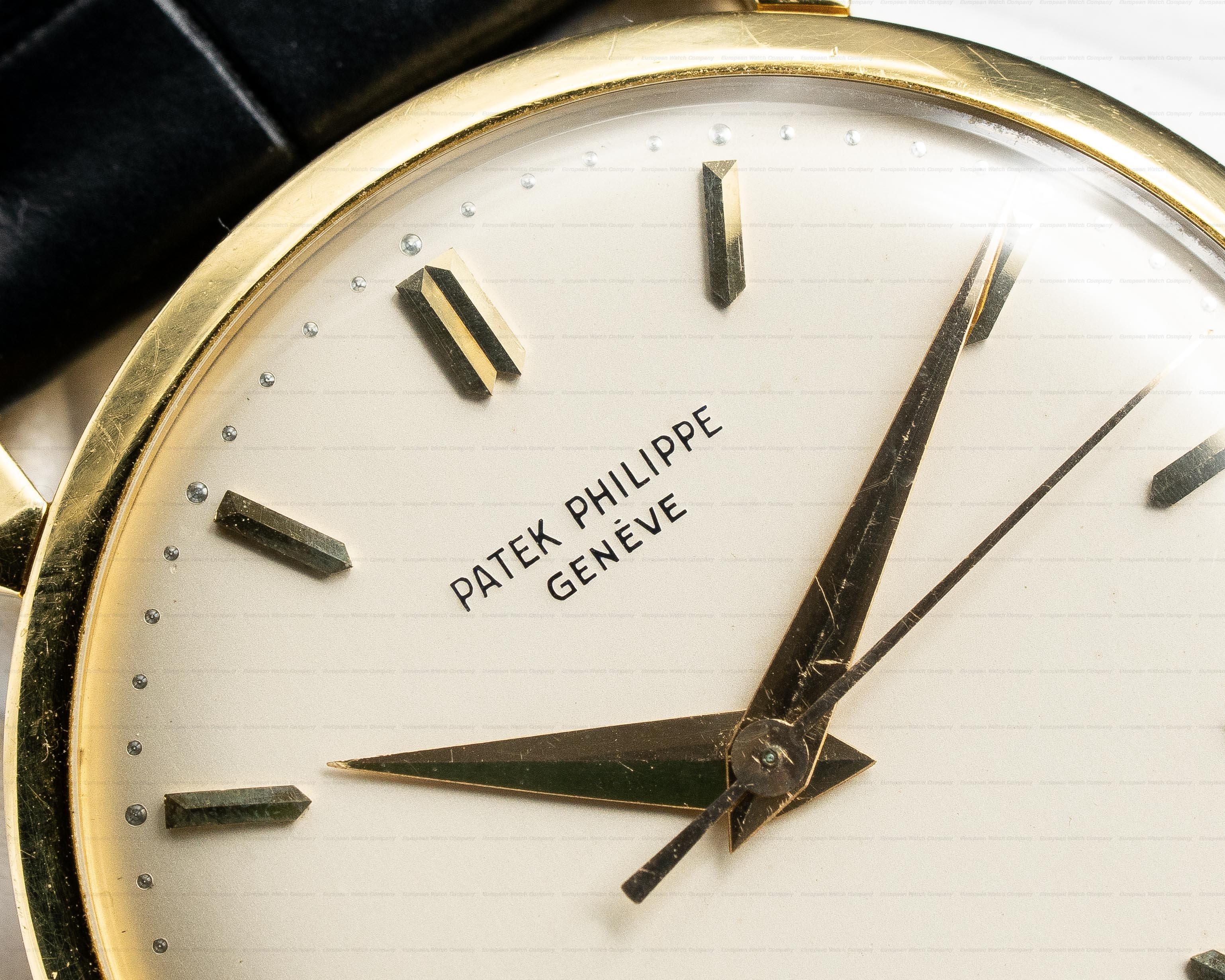 Patek Philippe 1578 Calatrava 18K Yellow Gold Manual Wind 35MM