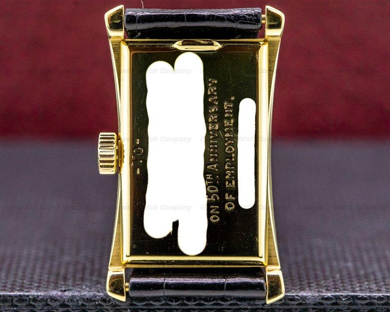 "Patek Philippe 1593 Vintage ""Hour Glass"" 18k Yellow Gold c. 1952"