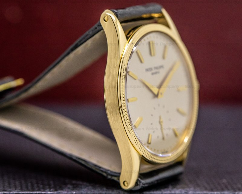 Patek Philippe 3796J Calatrava 3796 Manual Wind 18K Yellow Gold