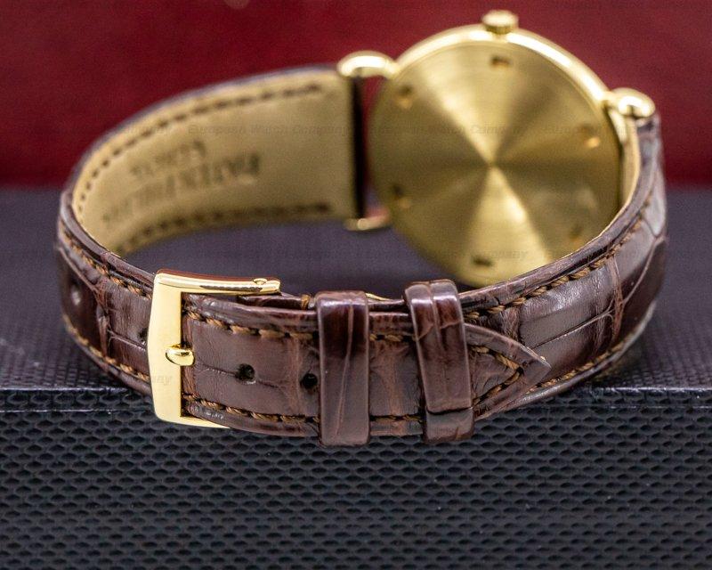 Patek Philippe 3820J Calatrava 3820 Teardrop Lugs 18K Rose Gold