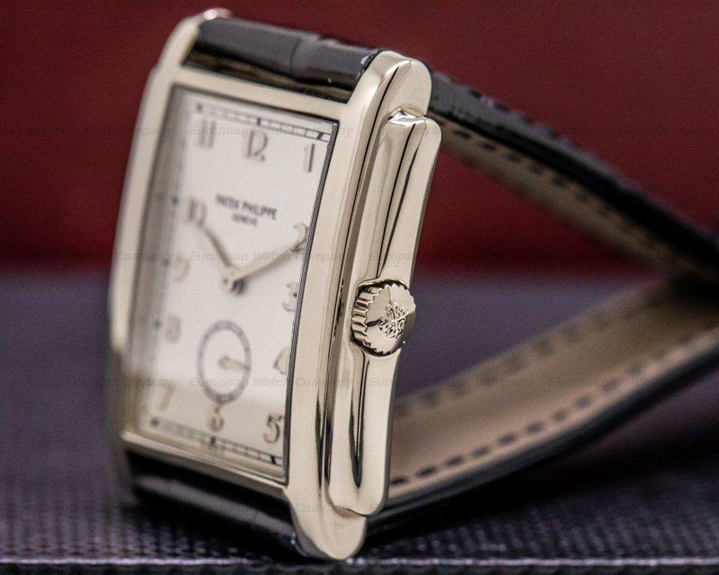 Patek Philippe 5024G Gondolo Silver Dial Arabic Numerals 18K White Gold
