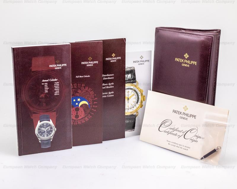 Patek Philippe 5056P-001 Annual Calendar Power Reserve Grey Dial Platinum