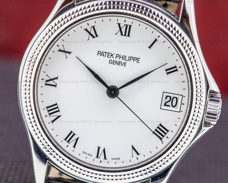 Patek Philippe 5117G-001 Calatrava 5117G 18K White Gold Automatic