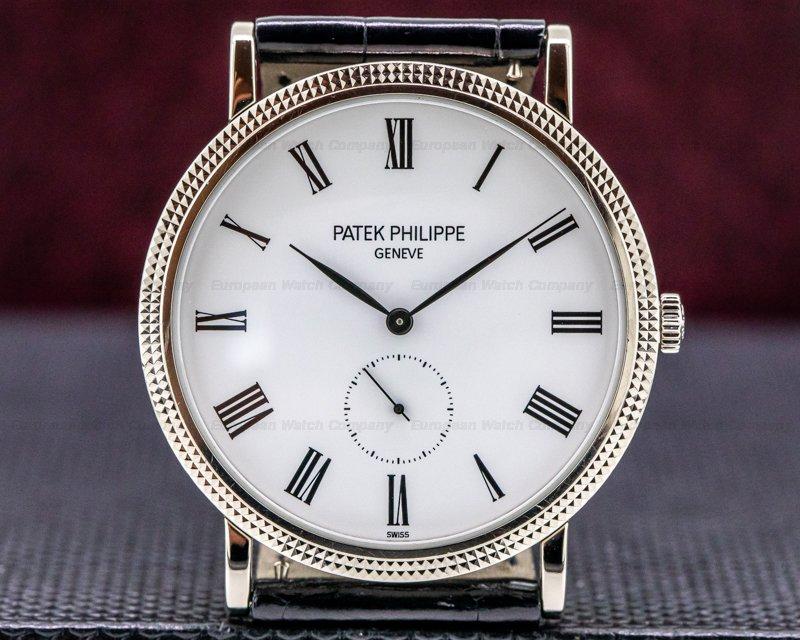 Patek Philippe 5119G-001 Calatrava 5119G 18K White Gold