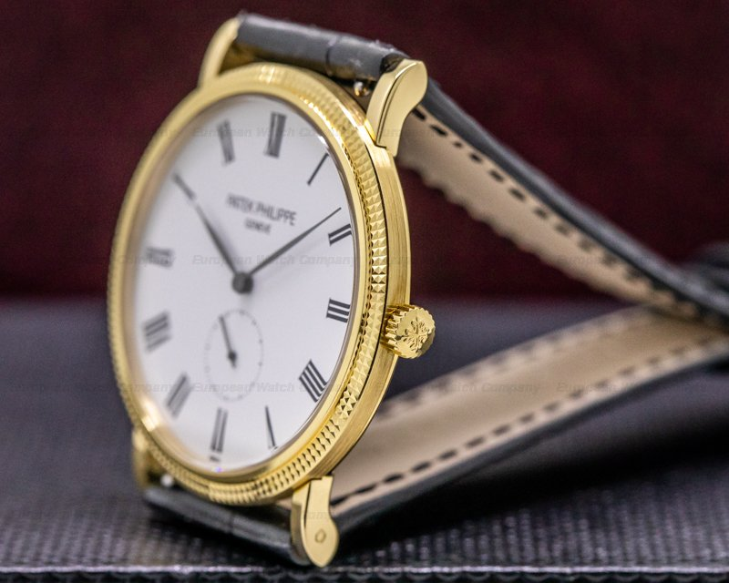 Patek Philippe 5119J-001 Calatrava 5119J 18K Yellow Gold