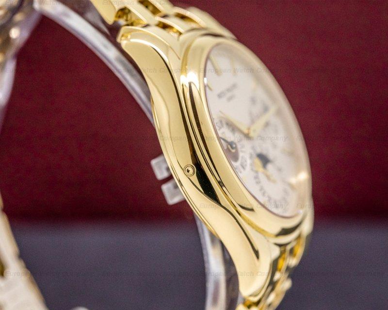 Patek Philippe 5136/1J-001 Perpetual Calendar / 18K Yellow Gold Bracelet FULL SET PATINA
