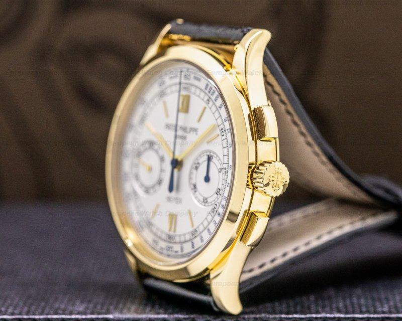 "Patek Philippe 5170J-001 BEYER Chronograph 5170 ""BEYER"" 18K Yellow Gold LIMITED EDITION RARE"