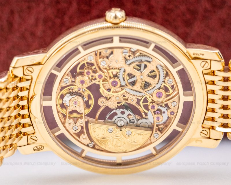 Patek Philippe 5180/1R-001 Ultra Thin Skeleton 5180 18K Rose Gold / Bracelet