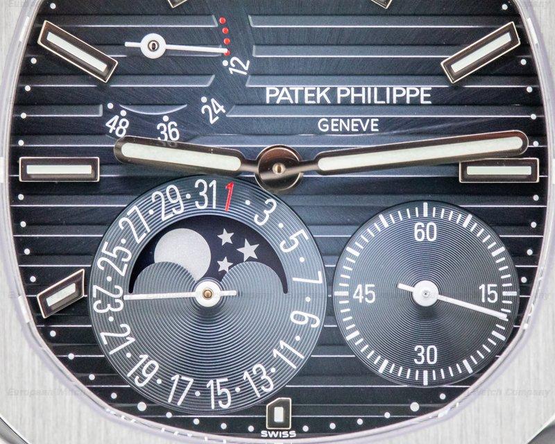 Patek Philippe 5712/1A-001 Jumbo Nautilus 5712 Moonphase Power Reserve SS