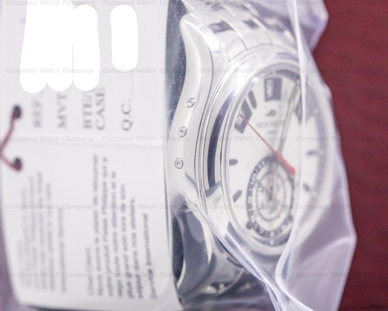 Patek Philippe 5960/1A-001 Annual Calendar 5960 Chronograph SS Silver Dial SERVICE SEALED