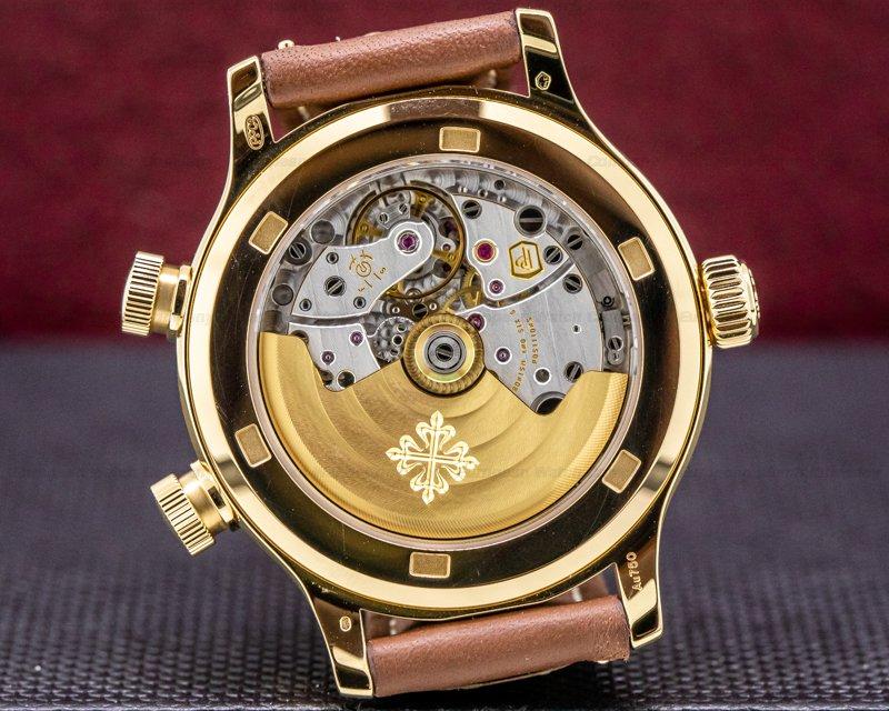 Patek Philippe 7234R-001 Mid Size 7234R Calatrava Pilot Travel Time 18k Rose Gold 2020