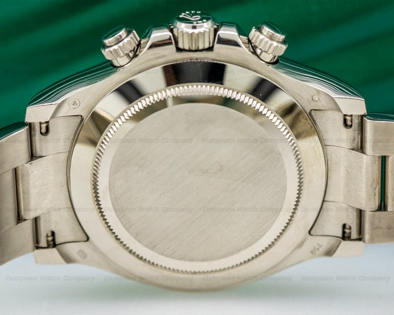 Rolex 116509 Daytona 116509 Black Diamond Dial 18K White Gold