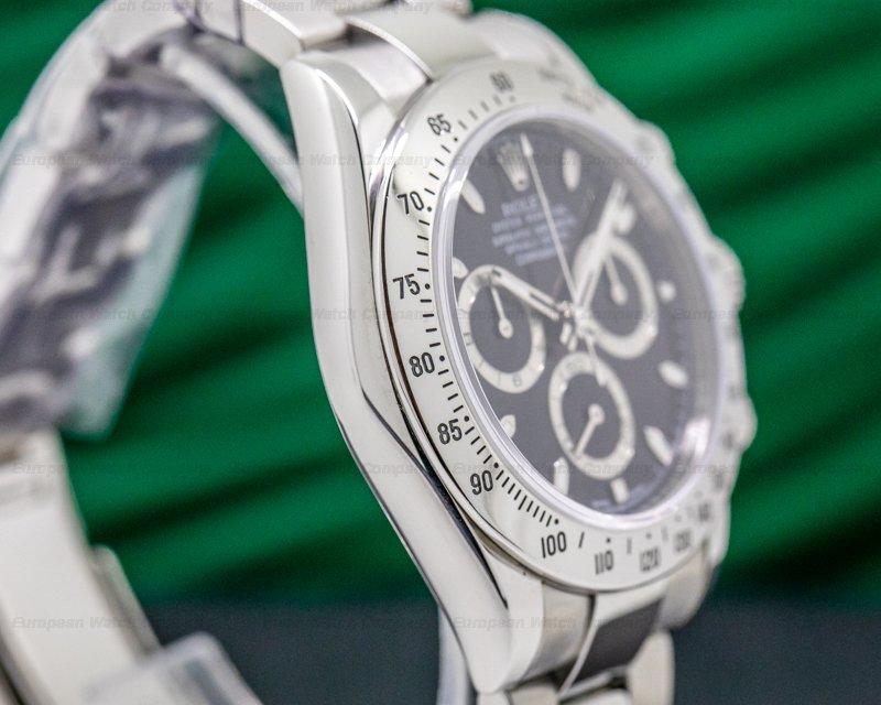 Rolex 116520 Daytona 116520 Black Dial SS