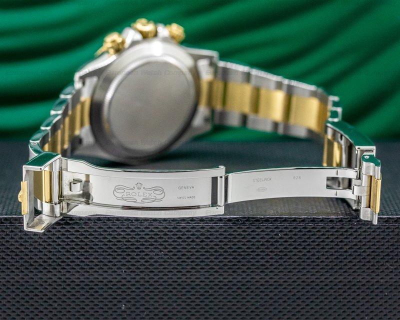 Rolex 116523 Daytona White Dial 18K Yellow Gold / SS