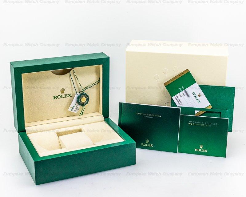 Rolex 126334 Datejust 41 Dark Rhodium Dial DIAMONDS