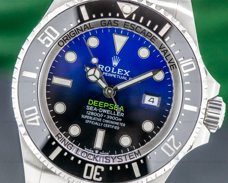 Rolex 126660 Sea Dweller Deep Sea D-Blue 2018
