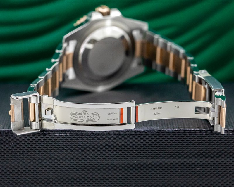 Rolex 126711CHNR GMT Master II 126711 Ceramic Root Beer SS / 18K