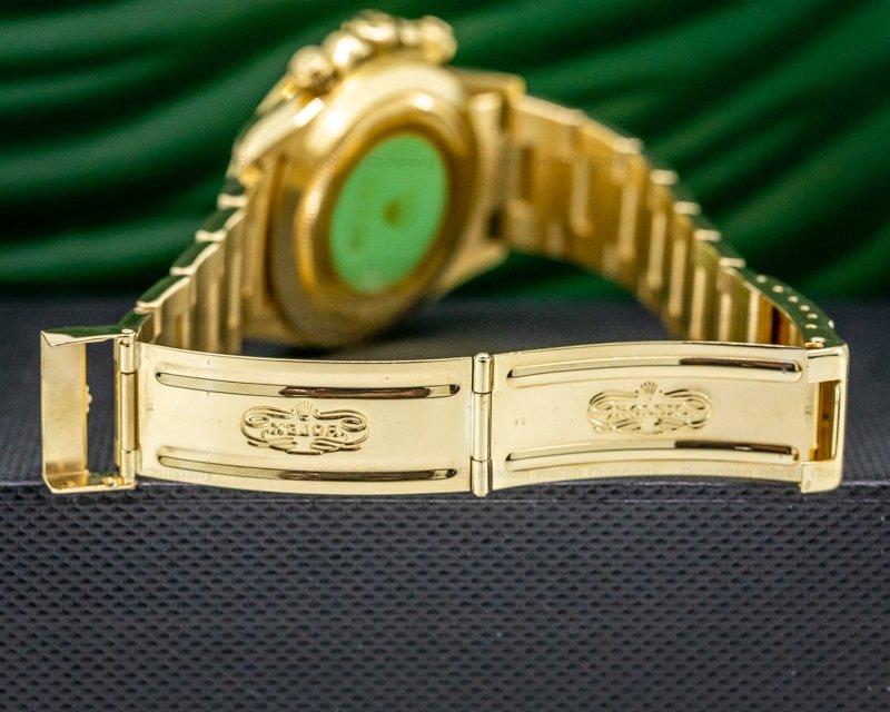 Rolex 16528 Daytona 16528 Zenith Gold Dial 18K / Bracelet