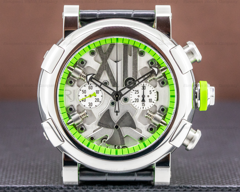 Romain Jerome R.J.T.CH.SP.005 Steampunk Chronograph SS Limited Green