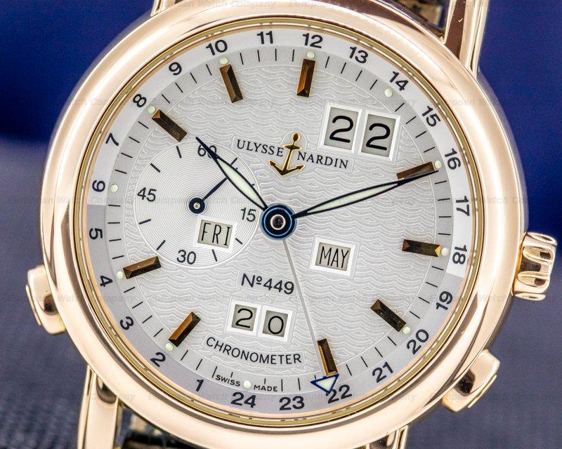 Ulysse Nardin 322-88/91 Ulysse Nardin Ludwig GMT Perpetual Calendar / Deployant 18k 40MM