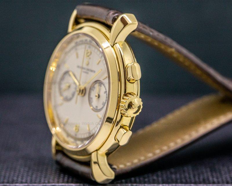 Vacheron Constantin 47101/1-47111 Les Historiques 47101 Chronograph 18K Yellow Gold