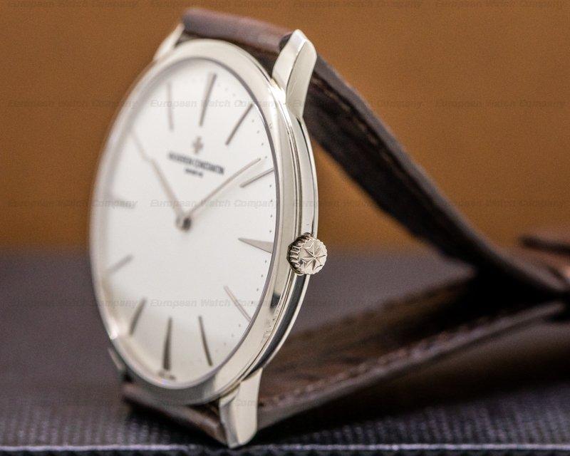 Vacheron Constantin 81180-000G-9117 Patrimony Contemporaine 18K White Gold 40MM