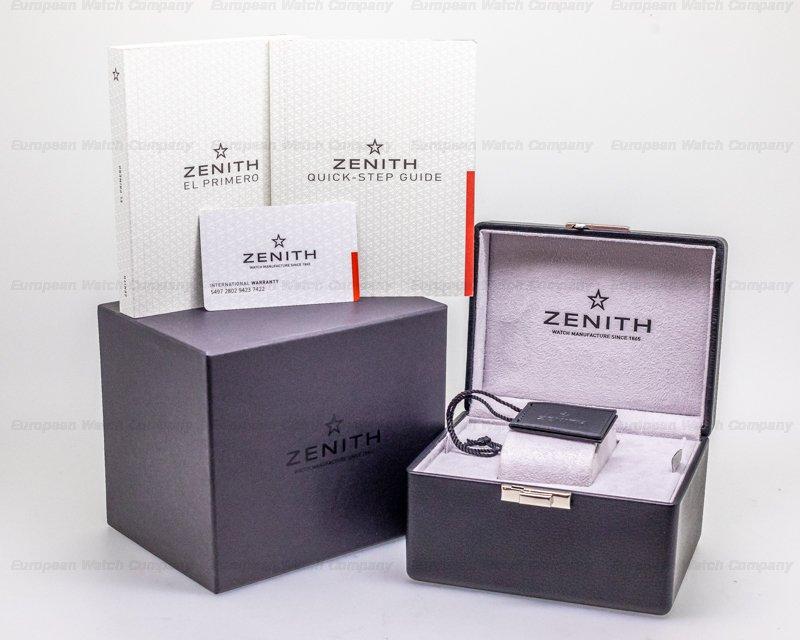 Zenith 03.2282.400/91.R578 Chronomaster El Primero Sport Limited Land Rover BAR Team Edition