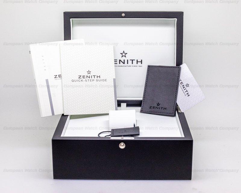 Zenith 05.2430.679/17.C902 Pilot Type 20 Silver UNWORN