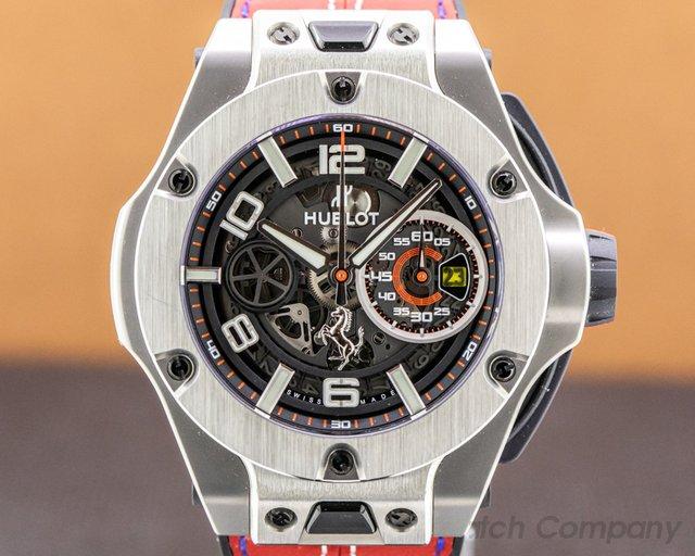 Hublot 402.NX.0123.WR Ferrari Big Bang Unico Titanium LIMITED