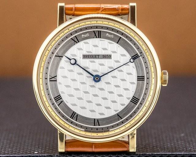 Breguet 5967BA/11/9W6 Classique Manual Wind 18K Yellow Gold 41MM