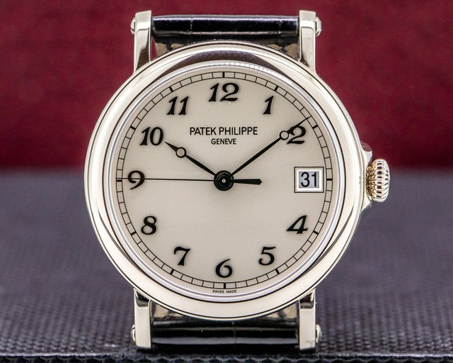 Patek Philippe 5153G-012 Calatrava Automatic 18K White Gold LONDON Limited Edition