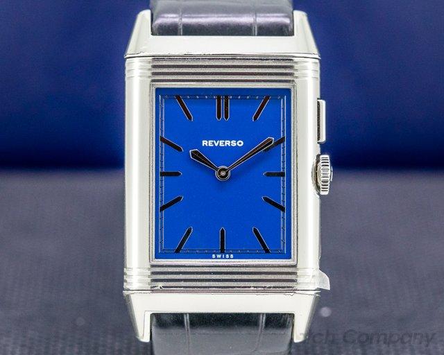 Jaeger LeCoultre 378858J Grande Reverso Duoface Bleu Boutique Edition UNWORN