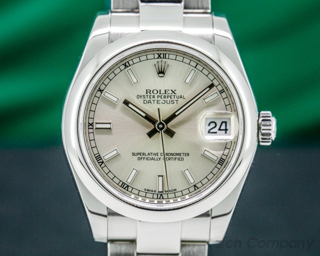 Rolex 178240 Rolex Datejust Silver Index Dial 31MM