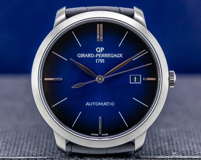 Girard Perregaux 49555-11-433-bh6a 1966 Earth to Sky LIMITED EDITION