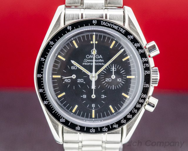 Omega 3592.50.00 Speedmaster Professional Apollo XI Display Back FULL SET