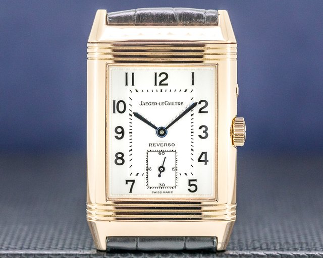 Jaeger LeCoultre 270.2.54 Reverso Duo 18K Rose Gold