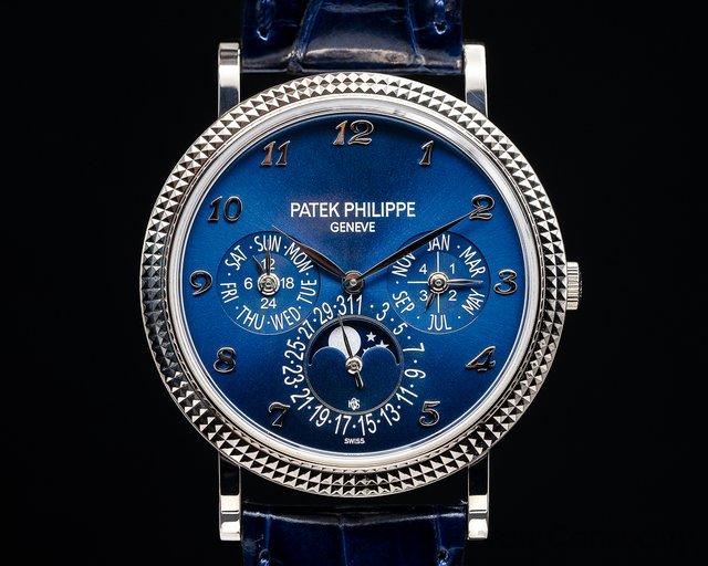 Patek Philippe 5139G-012 UNIQUE Perpetual Calendar 5139 Blue Dial 18K White Gold UNIQUE PIECE