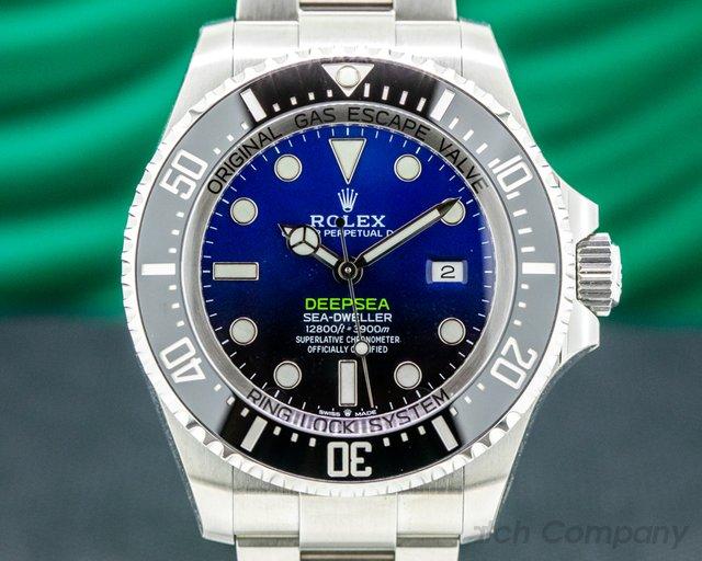 Rolex 126660 Sea Dweller Deep Sea D-Blue 2019 Model UNWORN